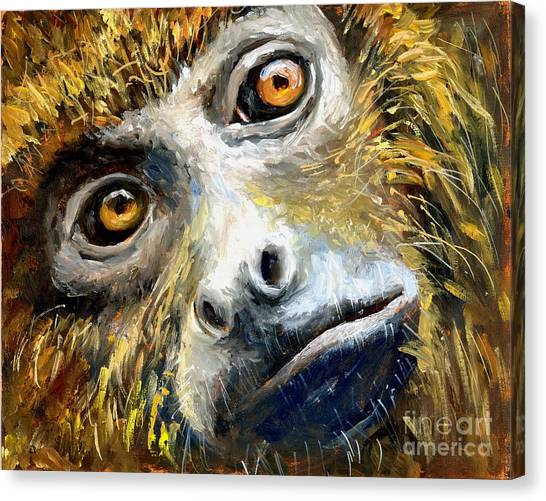 Northern Brown Howler Monkey Canvas Print