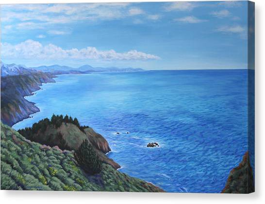 Northern California Coastline Canvas Print