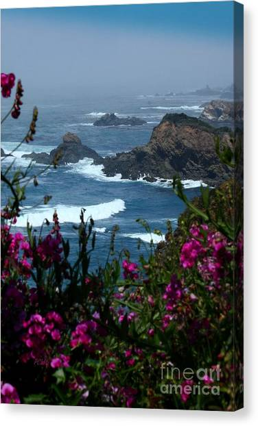 Northern Coast Beauty Canvas Print