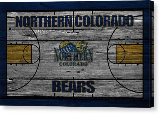 Colorado State University Canvas Print - Northern Colorado Bears by Joe Hamilton