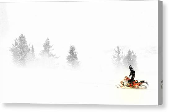 Northern Exposures.. Canvas Print