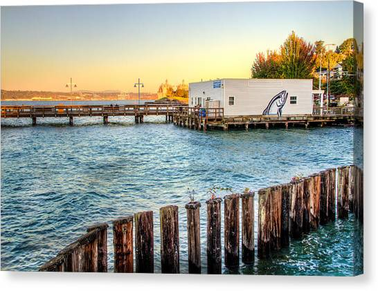 Northern Fish Co. Commencement Bay Canvas Print