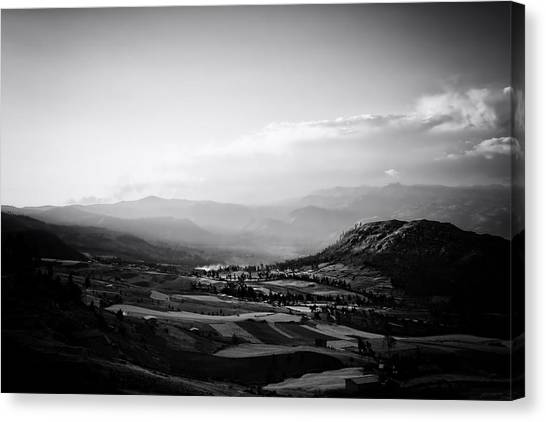 Northern Highlands Evening Canvas Print