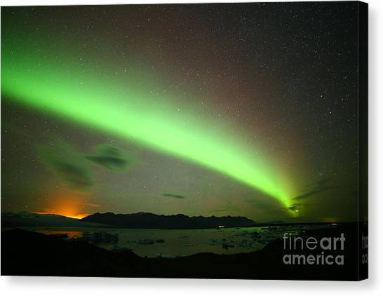 Northern Lights 2 Canvas Print
