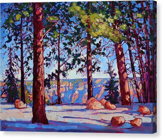 Landscape Canvas Print - Northern Rim by Erin Hanson