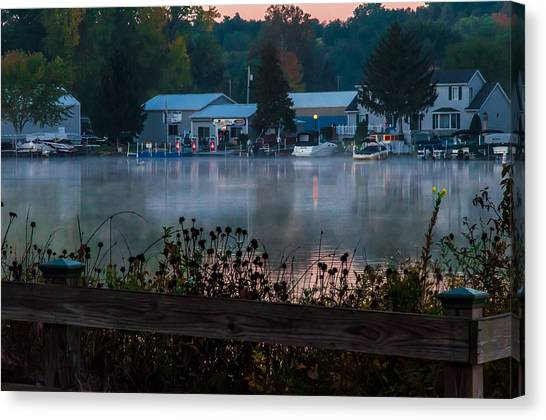Northwest Landing Marina Canvas Print