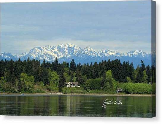 Northwest Living II Canvas Print