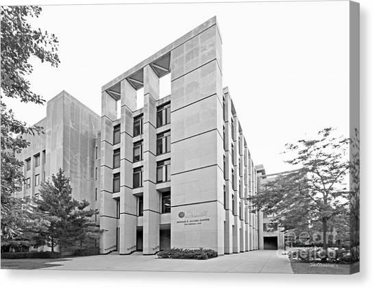 Northwestern University Canvas Print - Northwestern University Kellogg School Of Business by University Icons