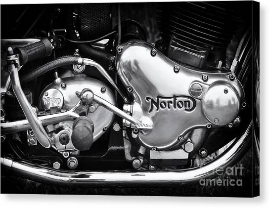 Norton Commando 850 Engine Canvas Print