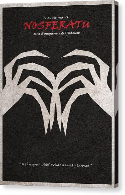 Alternate Canvas Print - Nosferatu by Inspirowl Design