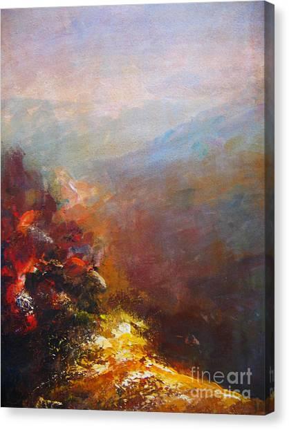 Nostalgic Autumn Canvas Print