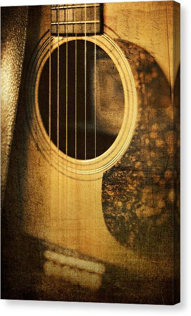 Ivory Canvas Print - Nostalgic Tones by Scott Norris