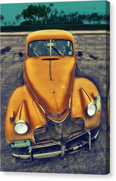 Nosy Car Canvas Print