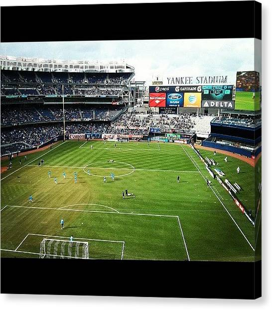 Karma Canvas Print - Not The Best Seats In The House But A by Karma Sherpa