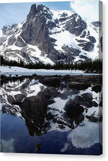 Notchtop Reflection Canvas Print