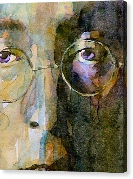 John Lennon Canvas Print - Nothin Gonna Change  My World  by Paul Lovering