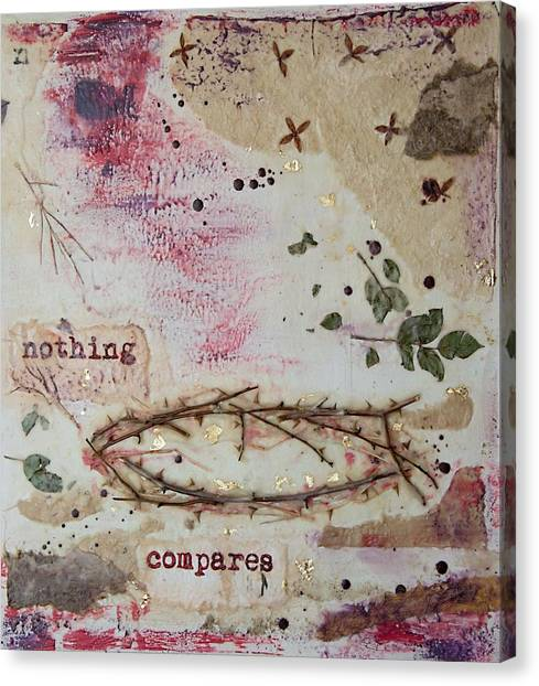 Nothing Compares Canvas Print
