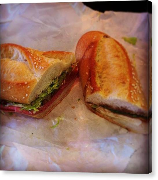 Submarine Canvas Print - Nothing Like Some #mortadella And by Chelsea Daus