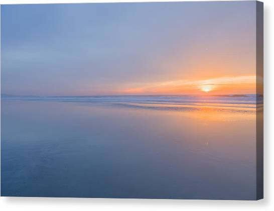 Big Sky Canvas Print - Nothing by Peter Tellone