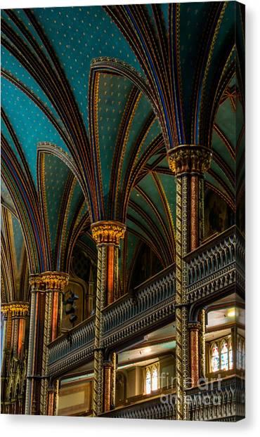 Notre Dame Basilica 2 Canvas Print