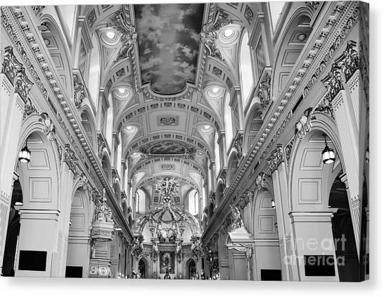 Notre-dame Basilica Canvas Print