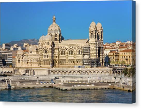 Landform Canvas Print - Notre Dame De La Garde, Marseille by Panoramic Images