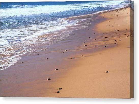 Cabot Trail Canvas Print - Nova Scotia, Beach Near The Cabot by Patrick J. Wall