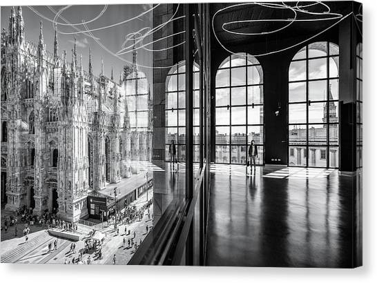 Cathedrals Canvas Print - Novecento's Reflections by Marco Tagliarino