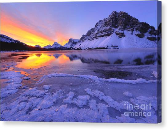 November Freeze Canvas Print