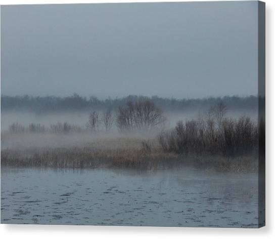 November Mist Canvas Print