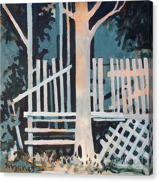 November Shadows Canvas Print by Micheal Jones