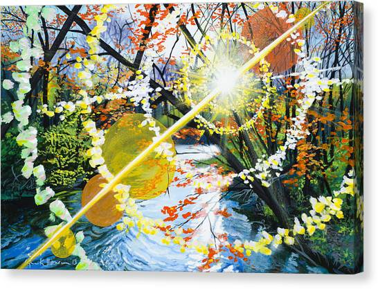 The Glorious River Canvas Print