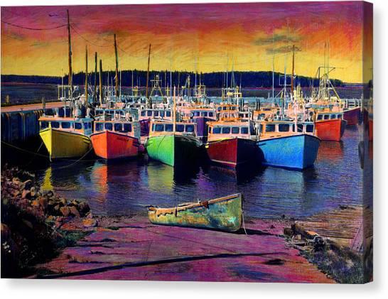 Novi Boats Canvas Print