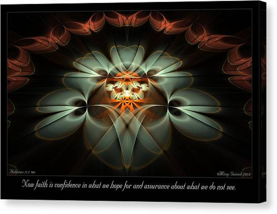 Now Faith Canvas Print