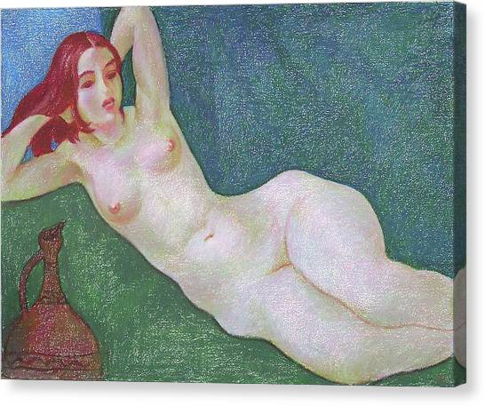 Nu 13 Canvas Print by Leonid Petrushin