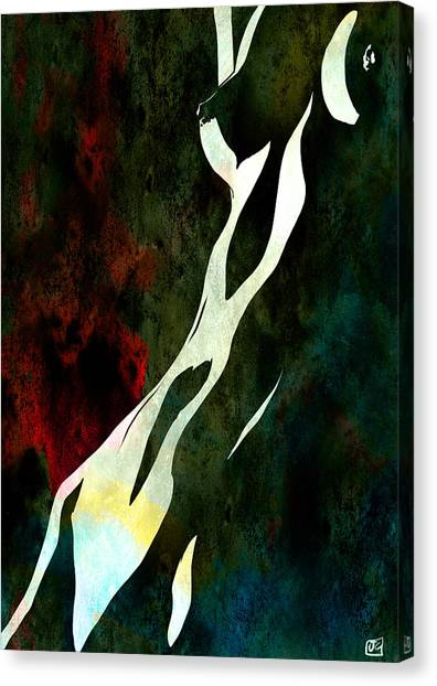 Erotic Canvas Print - Nude Number Nine by Giuseppe Cristiano
