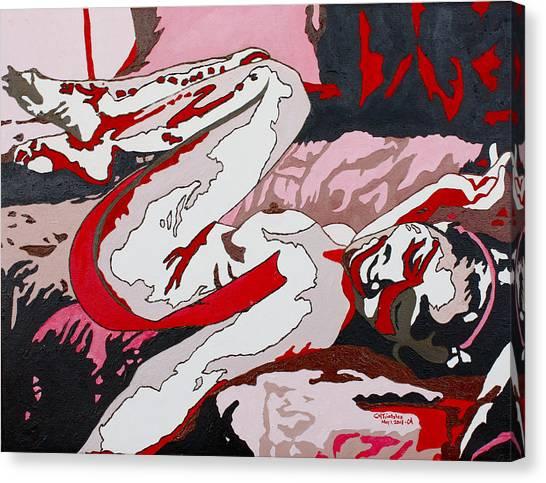 Nude2 Canvas Print