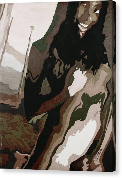 Nude4 Canvas Print