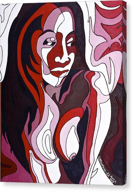 Nude5 Canvas Print