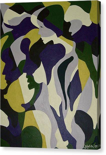 Nude9 Canvas Print