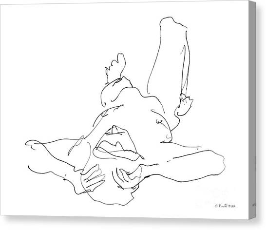 Nude_male_drawings-22 Canvas Print