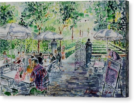 Nuernberg Gardens Of Hesperides Canvas Print