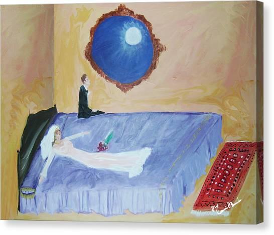 Nuit De Noces Canvas Print by Mounir Mounir