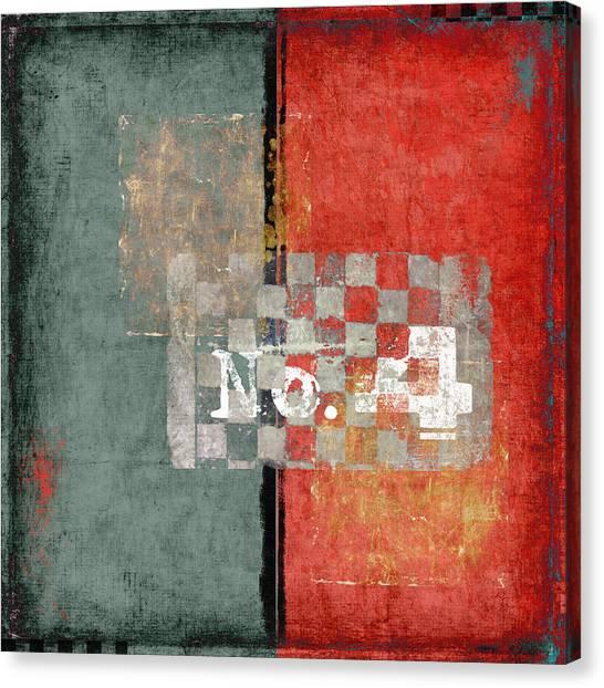 Four Square Canvas Print