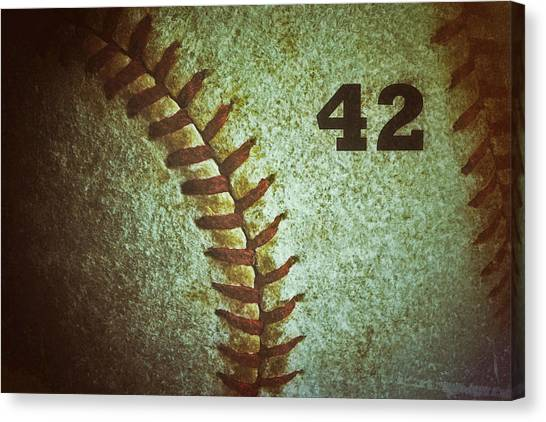 Number 42 Canvas Print