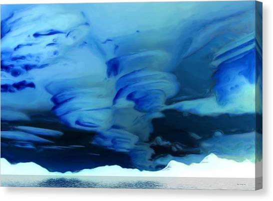 Northwest Territories Canvas Print - N.w.t. Storms by Wayne Bonney