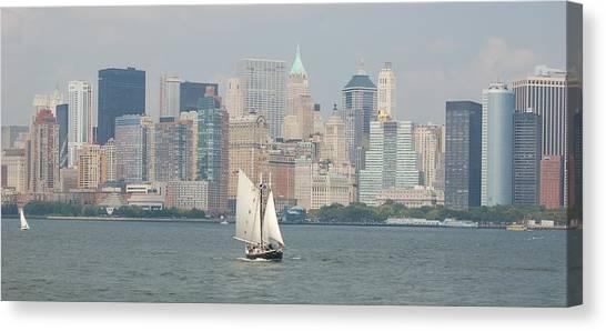 Ny City Skyline Canvas Print