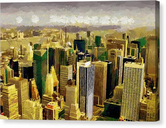 Nice Ny Canvas Wall Art Illustration - Wall Painting Ideas ...