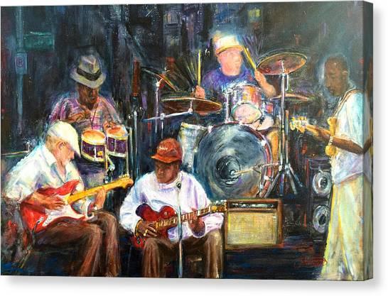 Nyc Blues Canvas Print