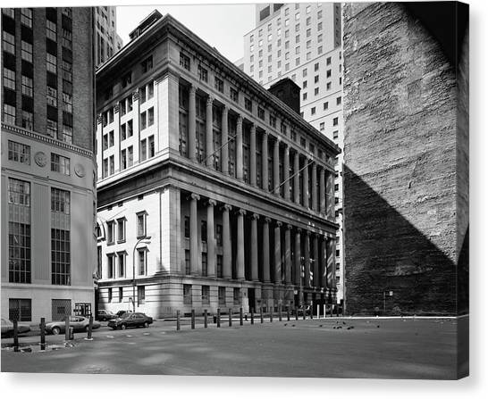Nyc National City Bank Canvas Print by Granger